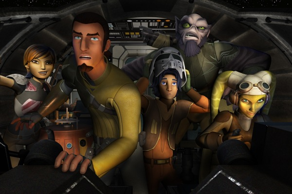 Star Wars Rebels Premieres