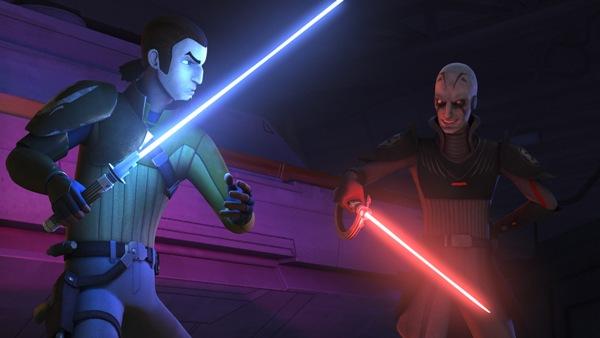Sith vs. Jedi in Star Wars Rebels