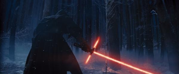 Star Wars The Force Awakens dark side lightsaber