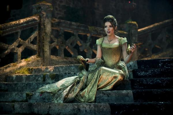 Anna Kendrick plays Cinderella in Into The Woods