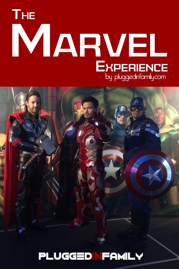 Inside The Marvel Experience with Iron Man, Thor, and Captain America