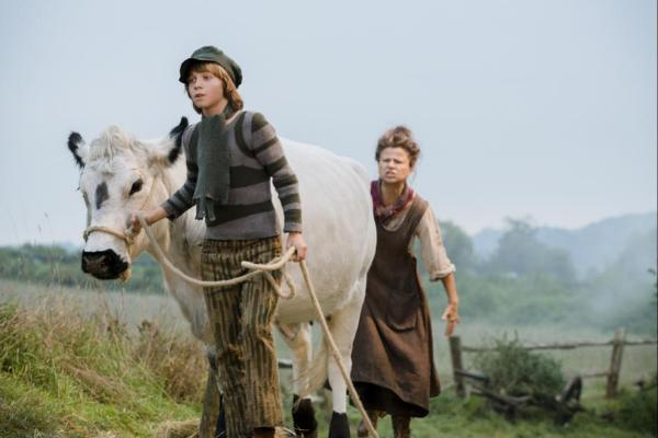 Into The Woods with Tracey Ullman Jack and the white cow