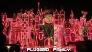 It's a Small World Christmas lights