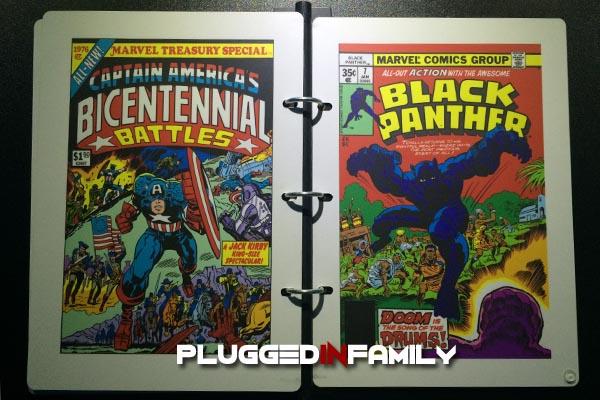 Marvel Comics Captain America's Bicentennial Battles and Black Panther