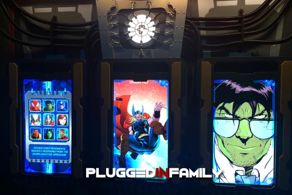 Origin Files of Hulk and Thor at The Marvel Experience