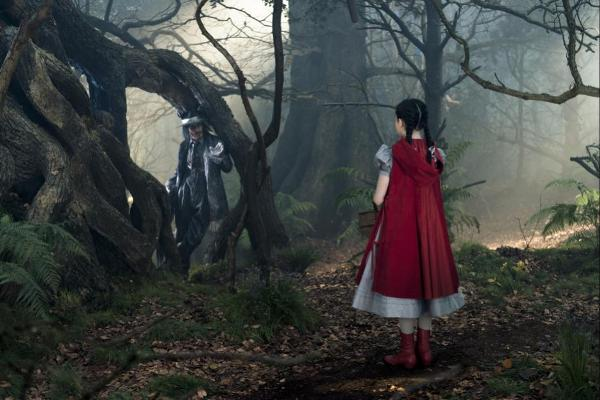 Red Riding Hood with Johnny Depp as the Wolf in Into The Woods