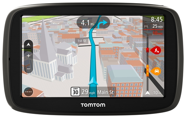 TomTom Go 50S Front View