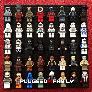 LEGO Minifigure Display Board