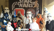 Star Wars Disney Side Party with the Dune Sea Garrison