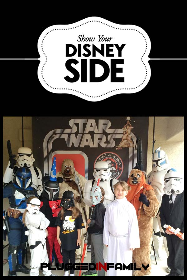 Star Wars Disney Side Party with the Dune Sea Garrison of the 501st Legion