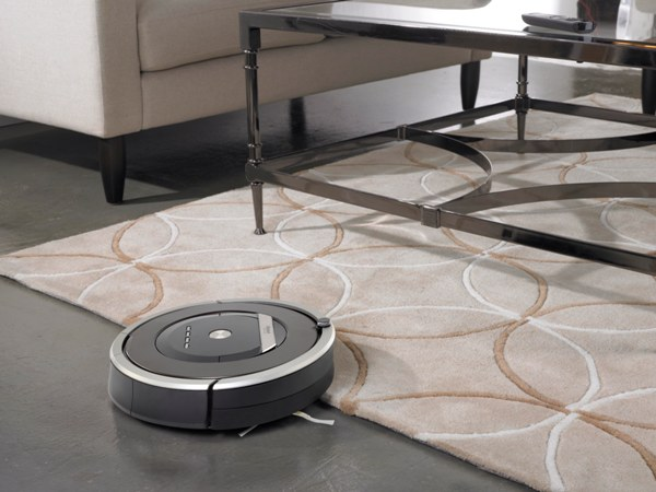 iRobot Roomba vacuums hard floors and carpet