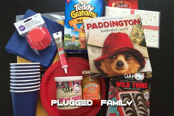 Paddington Party Kit Supplies