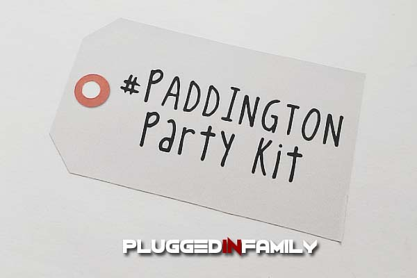 Paddington Party Kit