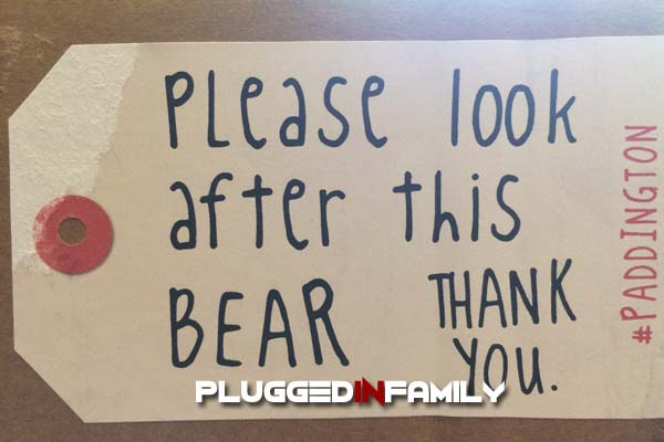 Please look after this bear thank you tag