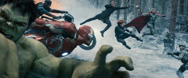 Avengers Age of Ulron fight scene