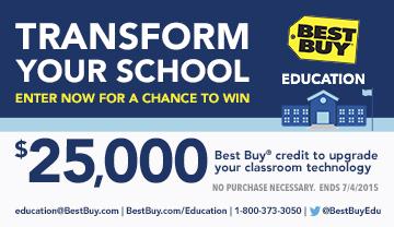 Best Buy Classroom Technology Upgrade $25K