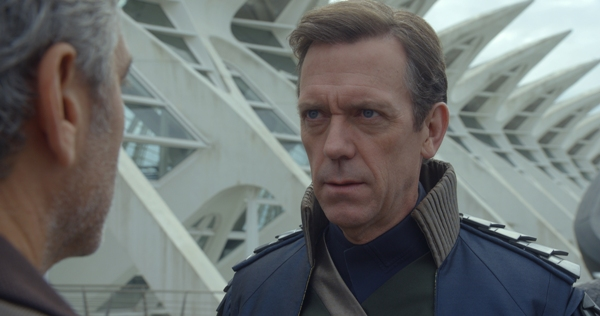Hugh Laurie in Tomorrowland movie