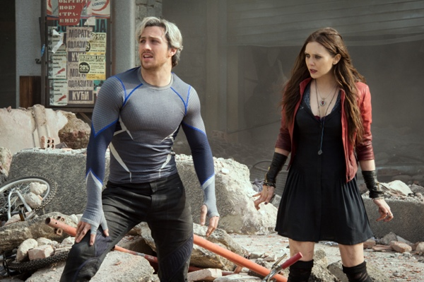 The Twins Quicksilver and Scarlet Witch