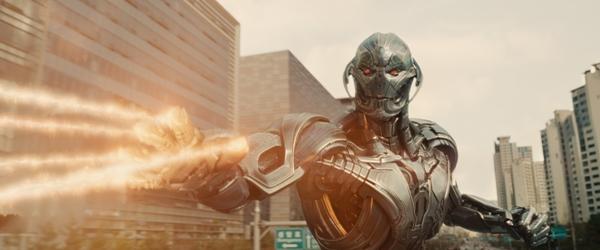 Ultron unleashing his power