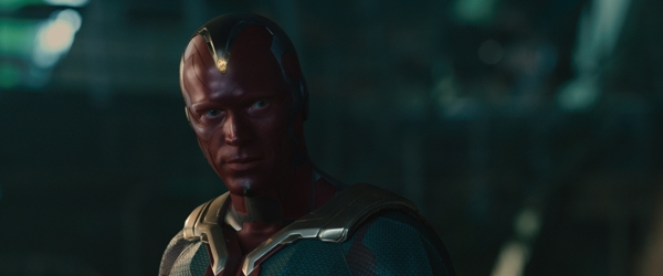 Vision played by Jarvis Paul Bettany