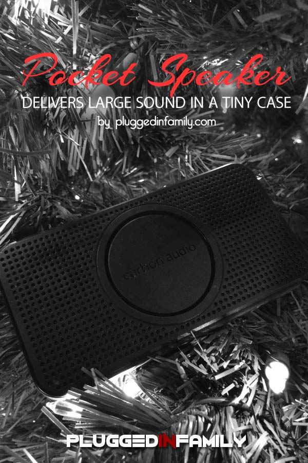 Carbon Audio Pocket Speaker at the Apple Store