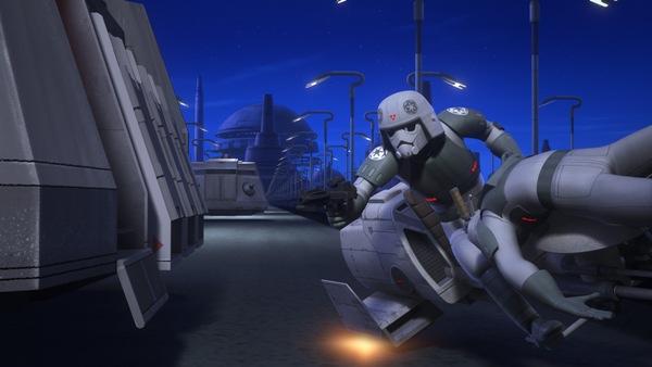 Imperial Speeder Bike Star Wars Rebels