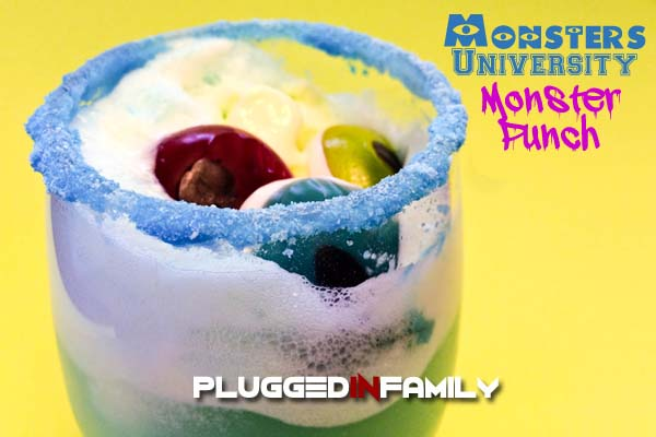 Monsters University Punch