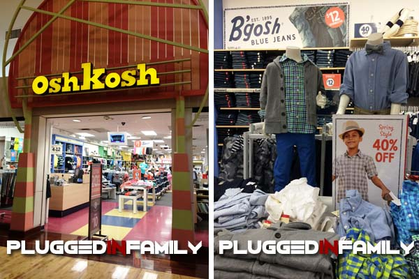 Osh Kosh Store Entrance
