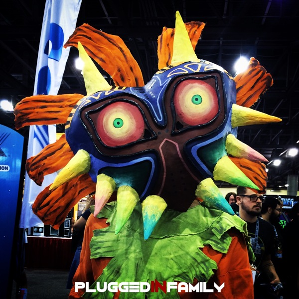 Phoenix ComiCon 2015 Saturday cosplay Skull Kid