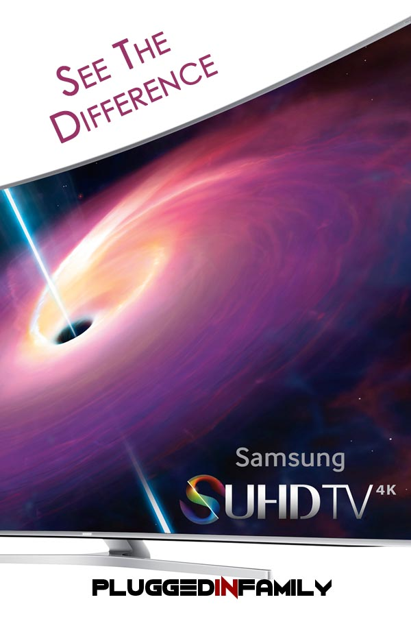 See the Difference in the curved Samsung SUHD TV