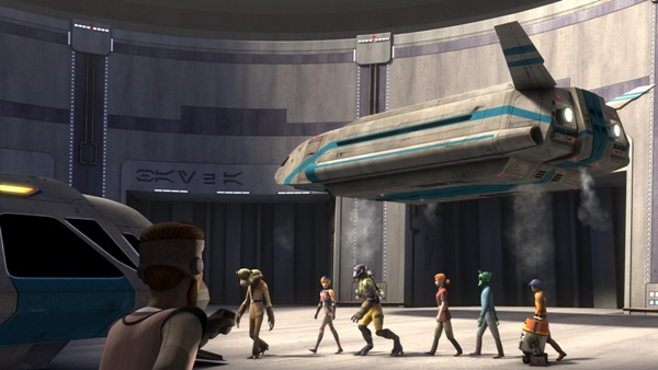 Star Wars Rebels Droids in Distress Episode 1