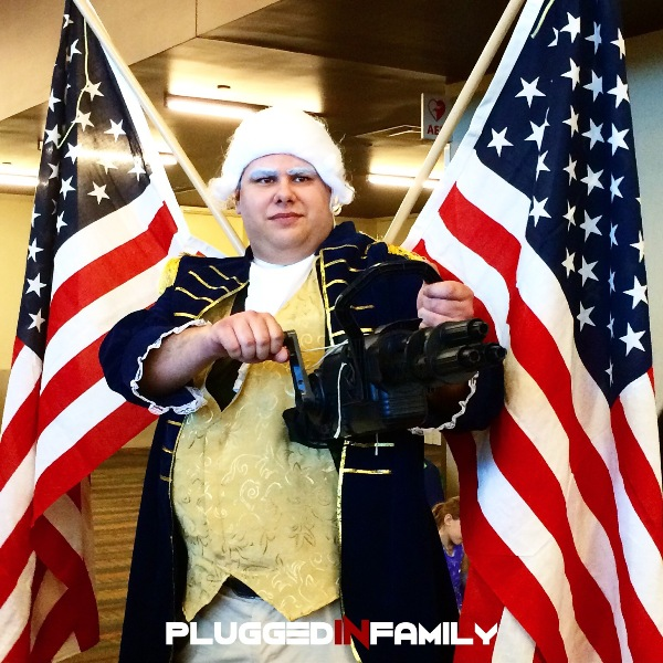 Bioshock Infinite Cosplay Patriot Cosplay comes out on S...