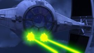 Tie Fighter in Star Wars Rebels Empire Day