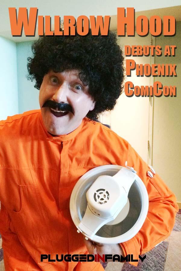 Willrow Hood Run Debuts at Phoenix ComiCon 2015