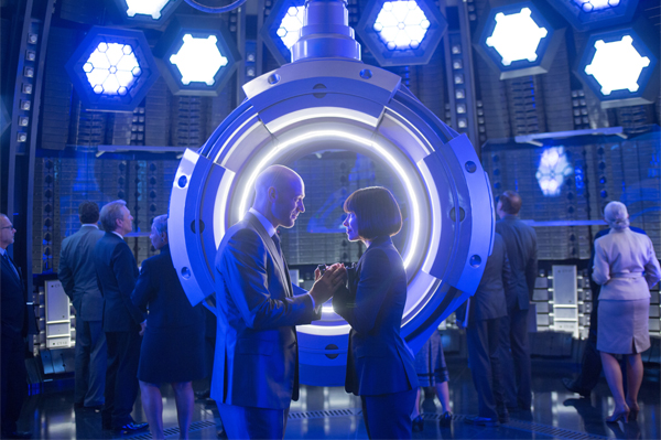 Evangeline Lilly and Corey Stoll in Ant-Man