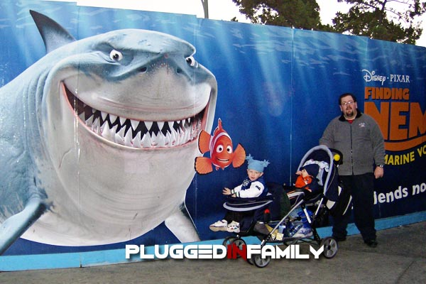 Finding Nemo under construction