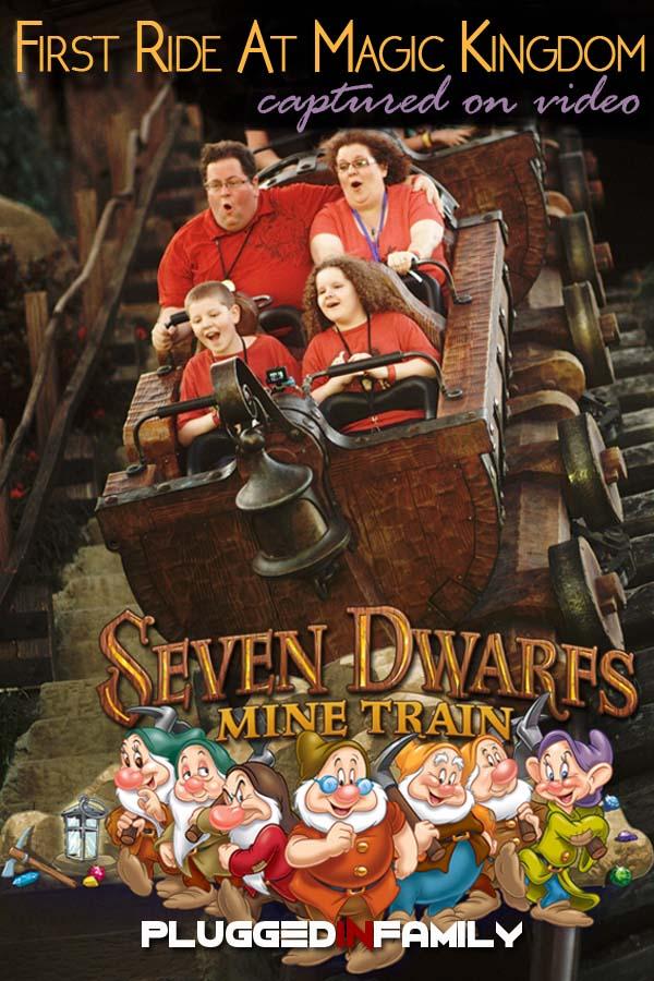 Seven Dwarfs Mine Train is first ride at Magic Kingdom