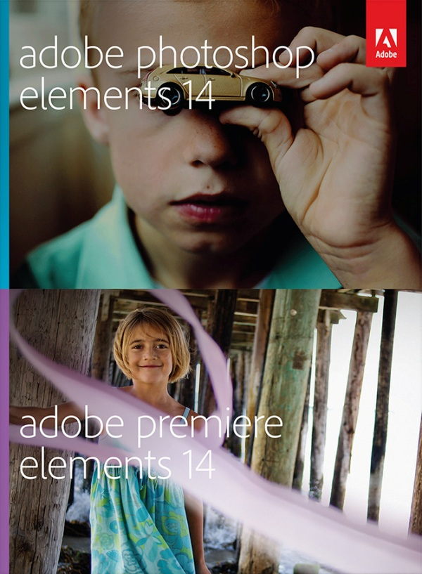 Adobe PhotoShop Elements 14 and Premiere Elements 14