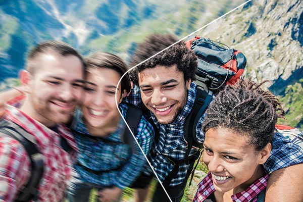 Adobe PhotoShop Elements 14 easily removes blur from selfies