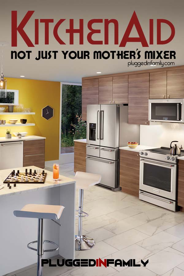 KitchenAid Not Just Your Mother's Mixer