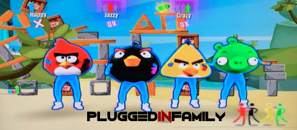 Angry Birds dancing in Just Dance 2016