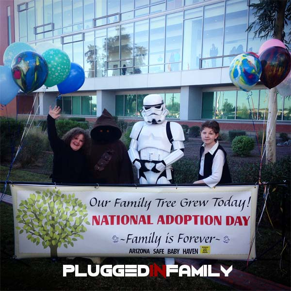 National Adoption Day with the Dune Sea Garrison TK61281