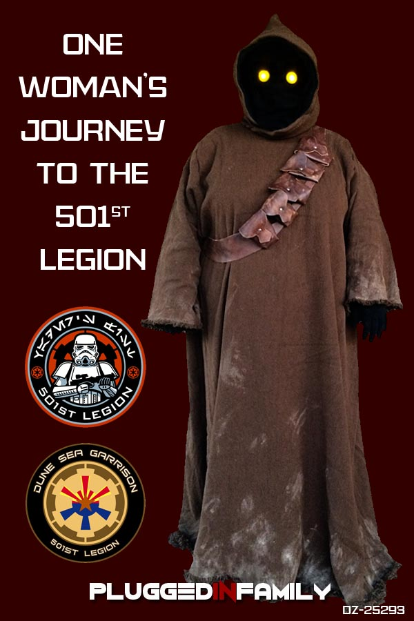One Woman's Journey to the 501st Legion