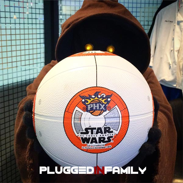 The Force Awakens Phoenix Suns BB8 Basketball