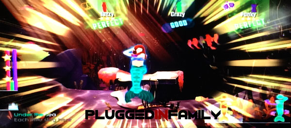 The Little Mermaid Under the Sea with Just Dance 2016
