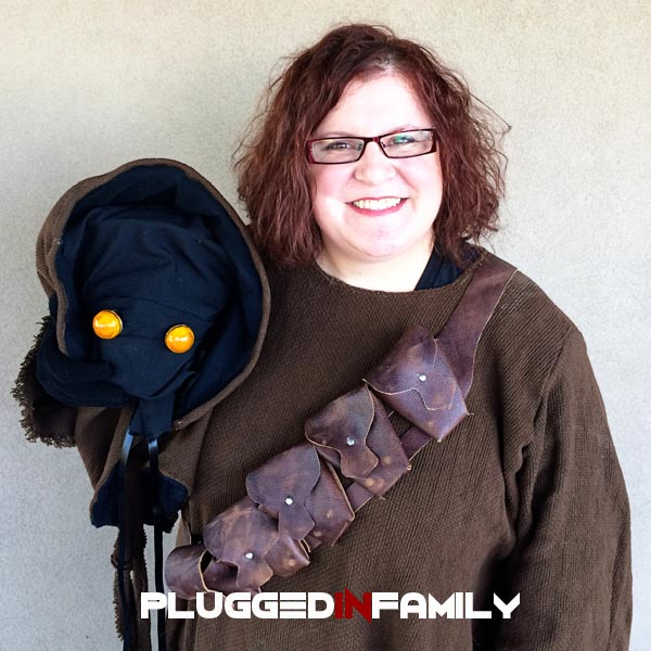 Wendy Wright as a Jawa in the 501st Legion
