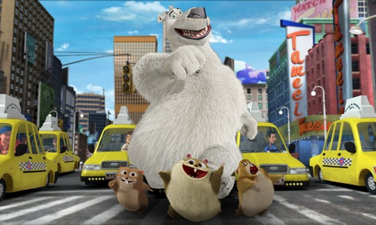Norm of the North voiced by Rob Schneider