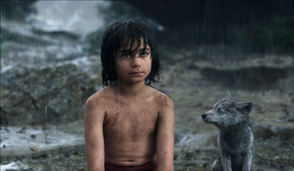 Mowgli and Gray from The Jungle Book