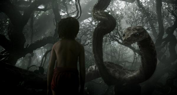 Mowgli and Kaa from The Jungle Book