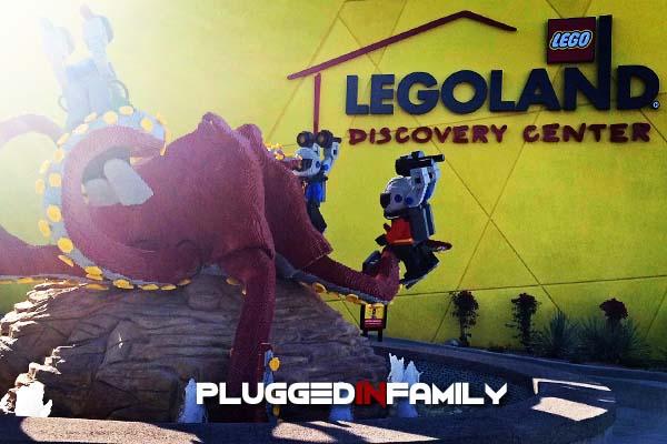 Octopus Fountain at LEGOLAND Discovery Center Arizona